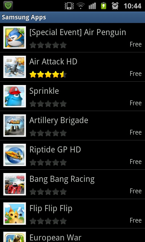 samsung free apps download