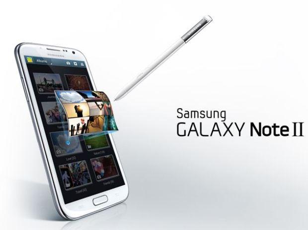 Samsung Galaxy Note II in Singapore